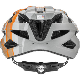 UVEX Air Wing CC Helmet Kids grey/orange matt